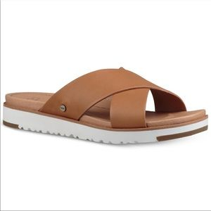 Ugg | Brown Kari Slide Sandal